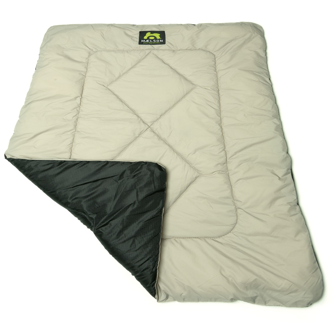 Maelson Cosy Roll Cestovní deka černo-béžová, 100x65 cm