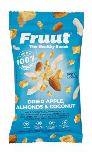 Fruut Sušené jablečné křupavé kousky smandlemi a kokosem 30 g