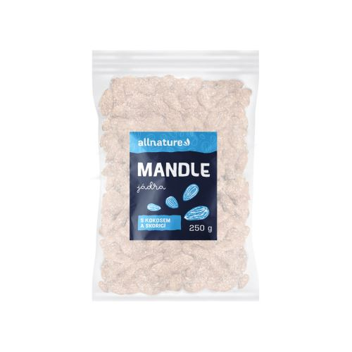 Allnature Mandle s kokosem a skořicí 250 g